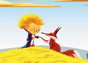 a raposa e o pequeno príncipe