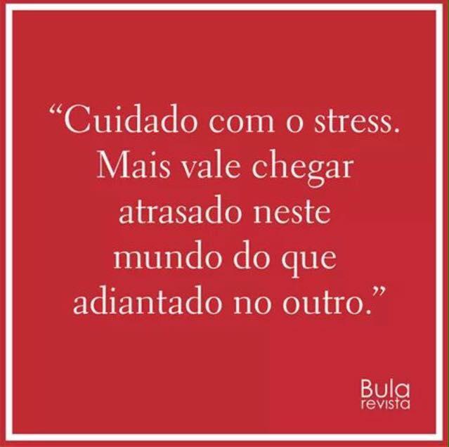 Cuidado com o estresse !
