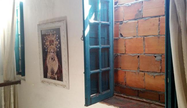 janela para o muro