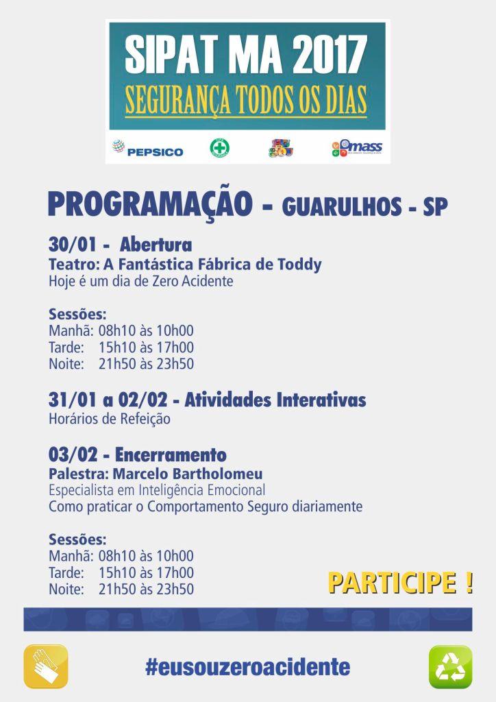 SIPATMA/2017, PEPSICO Guarulhos